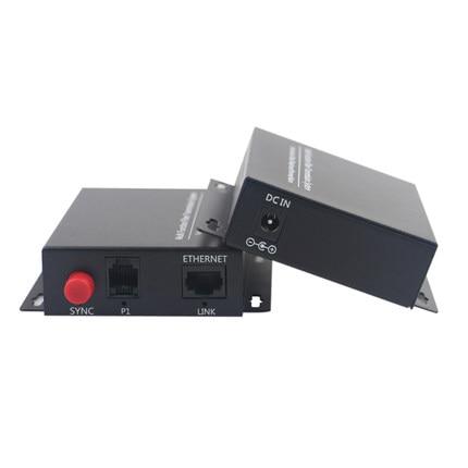 цена на 1 Channel Telephone Fiber Optical Media Converter with Ethernet 1 Pair