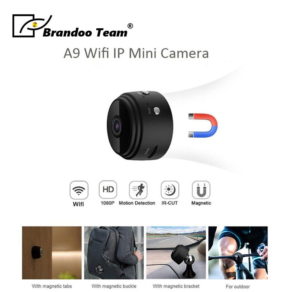 Brandoo Mini Wifi Camera IP Cam Wearable 1080P HD H.264 Body Camera Wireless Motion Detection Mini DV Camera Bike Camera цена в Москве и Питере