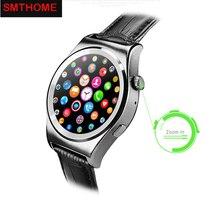 NEW X10 Full Round Smartwatch Heart Rate Tracker MTK2502 BT4 0 Health Tracker Smart watch for