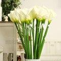 Большой 65-95 см высокий элегантный Настоящее сенсорный калла Пу искусственный цветок украшение цветок свадьба день святого валентина