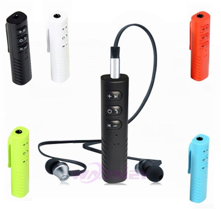 Ordentlich 3,5mm Jack Clip-auf Drahtlose Bluetooth Empfänger Mini Bluetooth Car Kit Audio Musik Adapter Mit Mic Für Kopfhörer Lautsprecher 100 Set Unterhaltungselektronik Tragbares Audio & Video