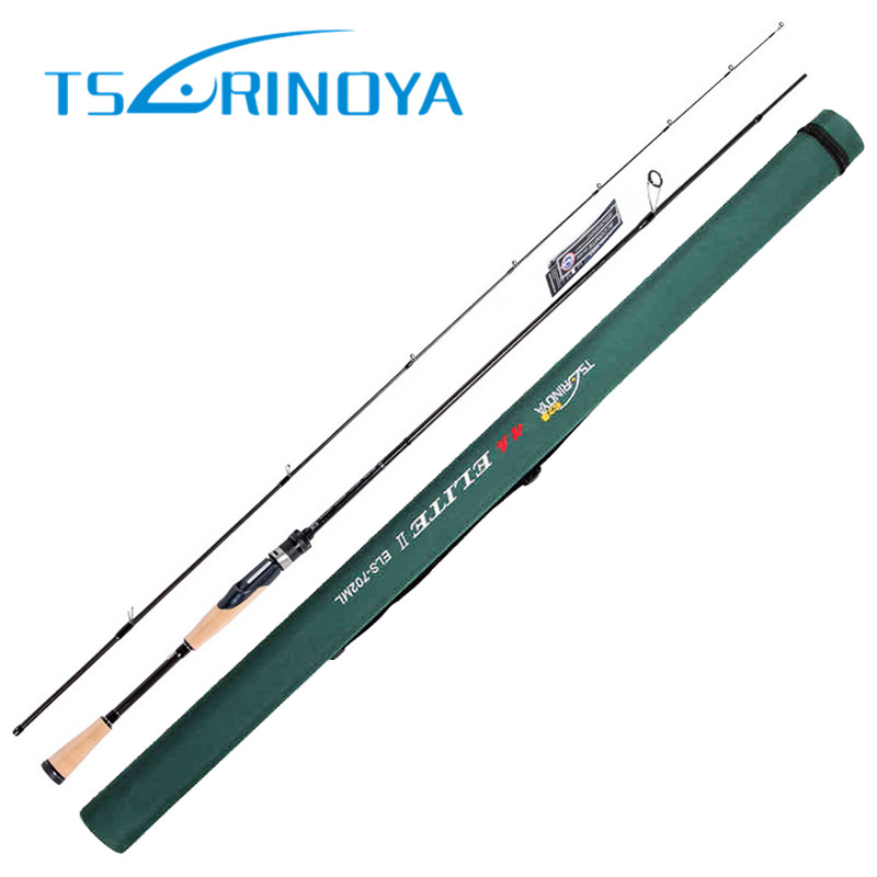 TSURINOYA 2.13m ML/MF Spinning Fishing Rod 4-16g/6-14LB Cork Handle Carbon Lure Rod Pesca Bass Fishing Stick Cane Spinning Rod crony master mass702m s bass 2pieces spinning rods 7 0 2 13m 8 16g lure weight 6 14lb line class spinning rod