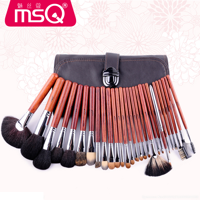 Professional Makeup Brushes Set Goat Weasel Hair Powder Blush Foundation Eye Shadow Blending Brush Cosmetic Kits Make Up Brush 12pcs makeup brushes set professional powder foundation blush brush cosmetic beauty tools goat hair with zipper case bag