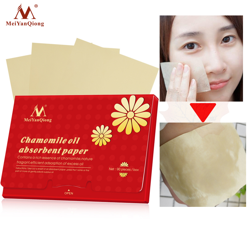 2018 Facial Absorbent Paper Oil Absorbing Sheets Deep Cleans