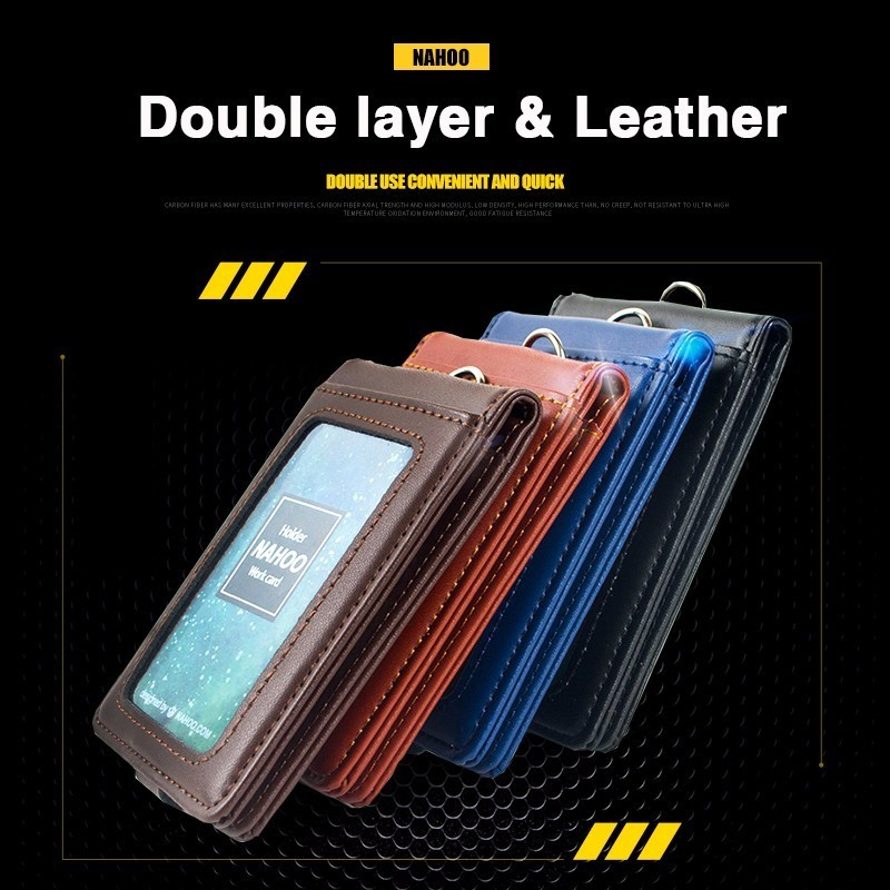NAHOO Genuine Leather lanyards…