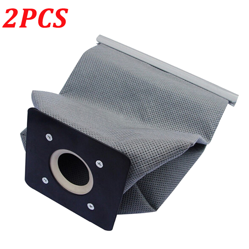 2PCS Washable Vacuum Cleaner Cloth Dust Bag For Philips Electrolux LG Haier Samsung Vacuum Cleaner Non Woven Bags 11x10cm
