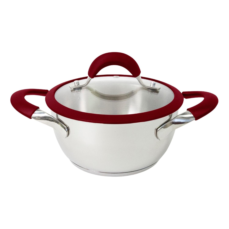 Pot with lid Esprado Farve Vino FV5L24SE101 ibili 418328 stock pot with lid vital 28 cm