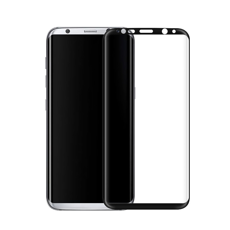 200x Full Cover 3D Curved Edge Tempered Glass Screen Protector For Samsung Galaxy S8  plus full glass Film 9H
