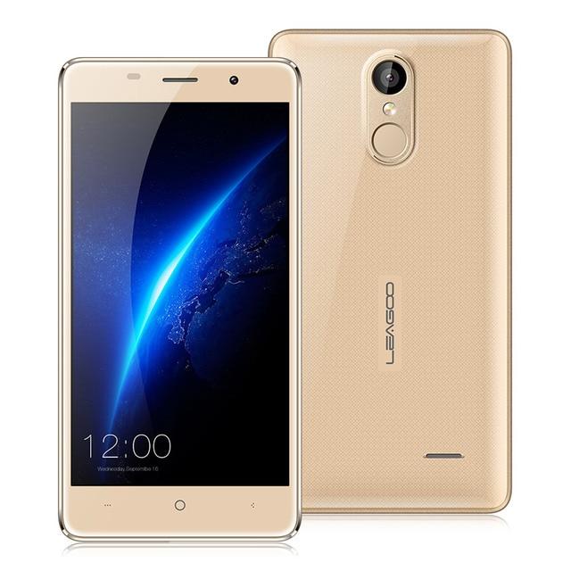"""В Наличии! Leagoo M5 Android 6.0 5.0 """"3 Г Смартфон MTK6580 1.3 ГГц Quad Core 2kGB 16 ГБ Finggerprint ID GPS Dual SIM Мобильный Телефон"""