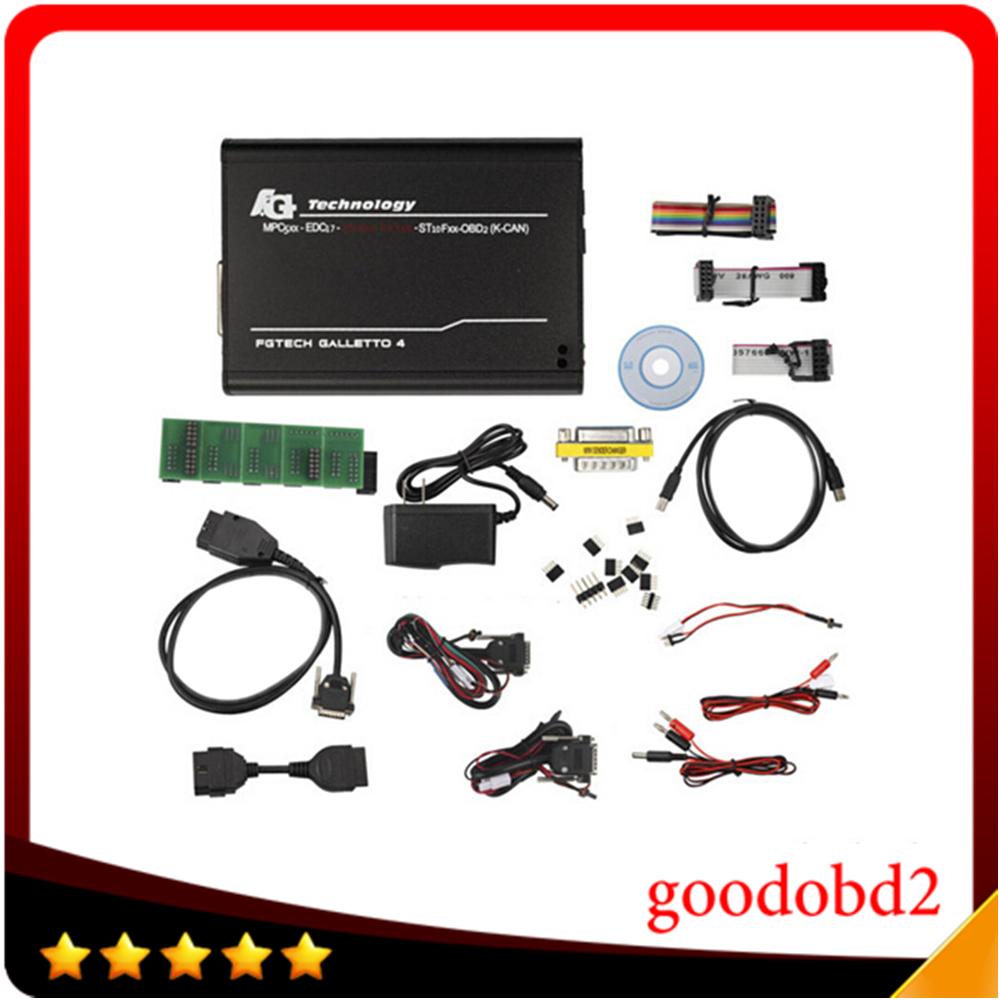 FGtech Galetto 4 Master ECU Chip Tuning Tool FG Tech FGtech Galetto V54 BDM-TriCore OBD Support BDM-OBD Function Unlock Version