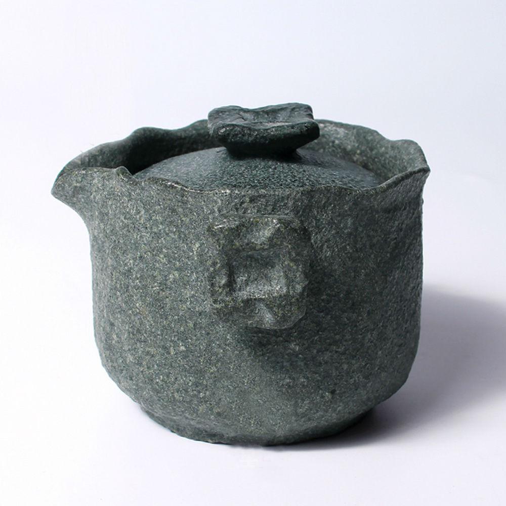 Чай Gongfu из гранодиорита ручной работы, гайвань с фильтром заварочный чайник 150 мл - 2