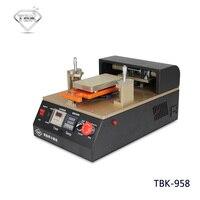 TBK 958 2 в 1 черный золотой lcd дигитайзер Отдельная машина lcd вакуумный экран сепаратор машина