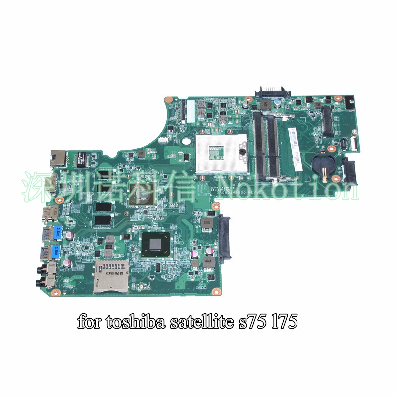 DA0BD5MB8D0 A000243200 For toshiba satellite S75 L75 laptop motherboard 17 3 inch GeForce GT740M HD4000