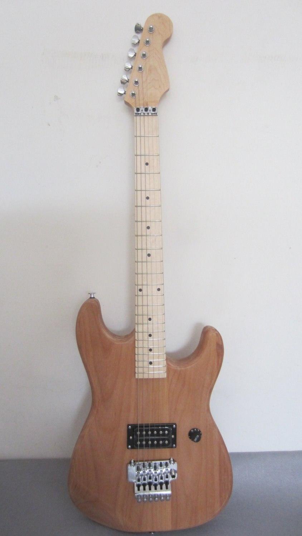 Livraison gratuite alder corps charvel kits de guitare/charvel guitare inachevée/bricolage guitare