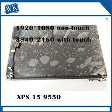 Для Dell XPS 15 9550 9560 3840*2160 4 K и 1920*1080 15,6 «Сенсорный экран светодиодный Дисплей светодиодная полная сборка