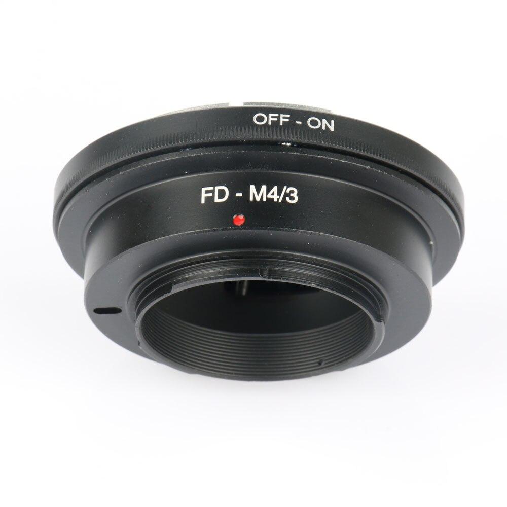 Lente Micro M43 anillo adaptador para Panasonic G1 G3 GH1 GF1 GF3 E-P1 E-PL3 EPL5 EM5 EM1 EM10 Cámara FD-M4/3 adaptador de lente