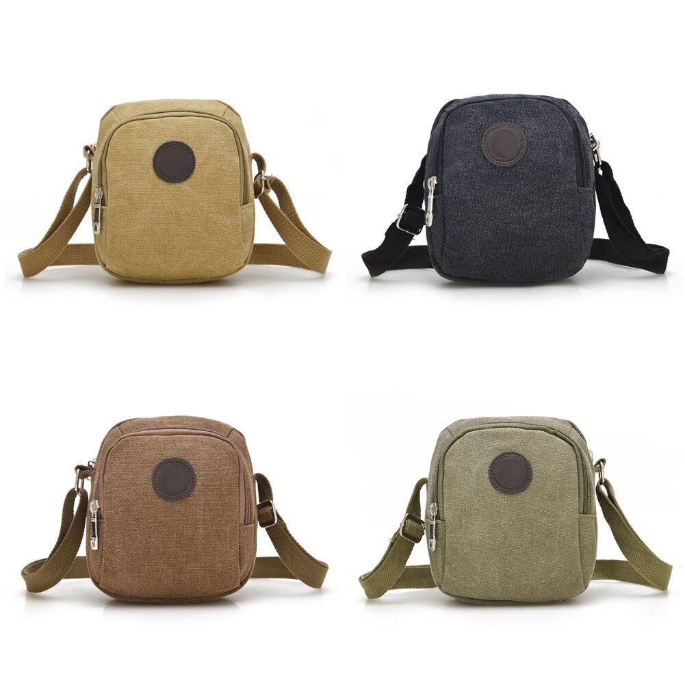 цена на Vintage Canvas Men's Crossbody Over Shoulder Messenger Bags Handbag Leisure Travel Bag Best Sale-WT