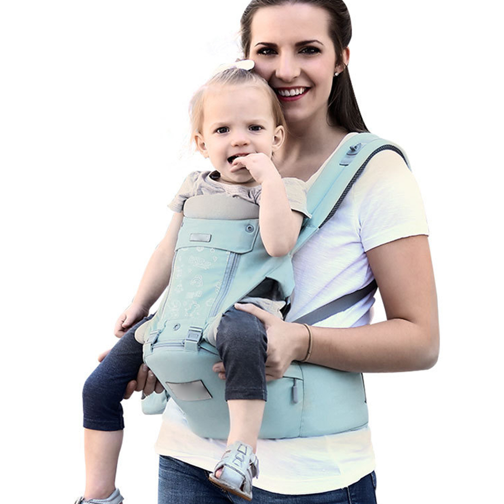 Multi-function Baby  Pocket Strap Hip Seat Carrier Waist Stool Comfortable Breathable Infant Waist Stool With Adjustable Strap