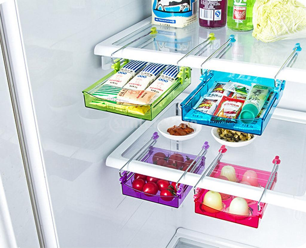 refrigerator racks. spmart smart slide fridge freezer refrigerator shelf rack holder space saver -in storage holders \u0026 racks from home garden on aliexpress.com | alibaba