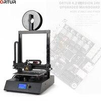 Китай 3d Принтер Комплект Большой принтер Размер 260*310*305 мм дешевый металлический 3d принтер с 10 нитью + 16 ГБ TF карта в подарок Сделано в Китае