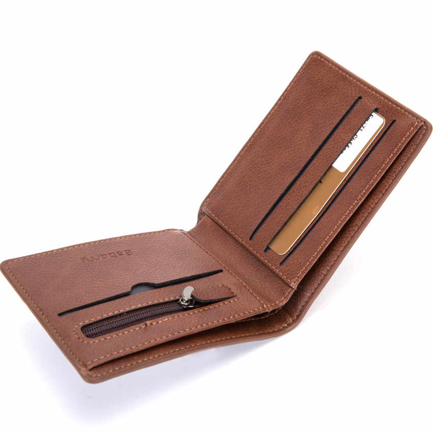 01d5f9a23db4 ... 2019 Rfid Wallet Man Slim Theft Design Coin Bag Men Wallets Male PU Small  Money Smart ...