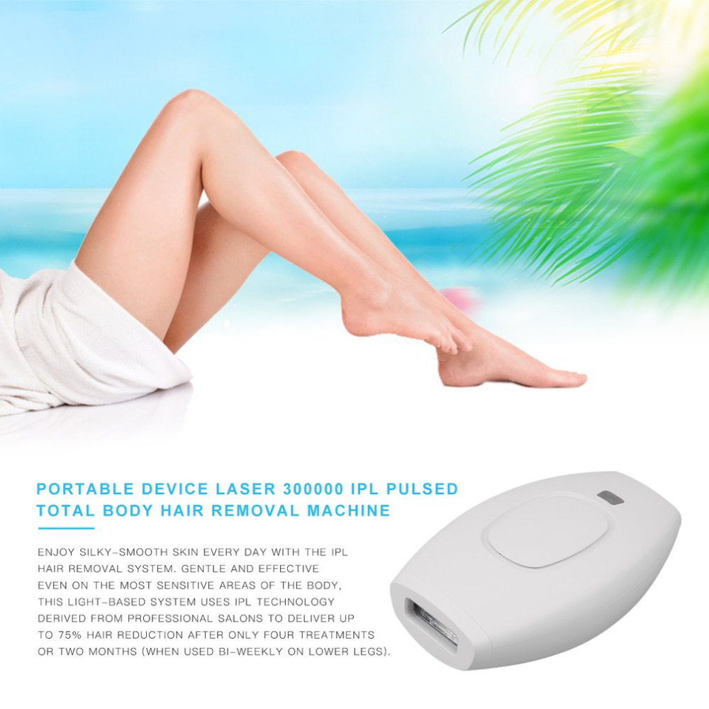 Laser Hair Removal Machine Laser Epilator 300000 IPL Hair Removal Permanent Bikini Trimmer Electric depilador Gifts ipl laser epilator hair removal lady lcd permanent device bikini hair trimmer machine electric depilatory depilador a laser