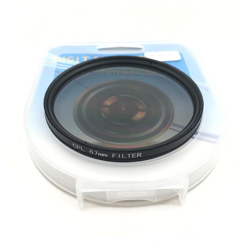 CPL Circular Polarizer Camera filter for Canon Nikon DSLR Camera lens 52mm/55/58/62/67/72/77/82mm