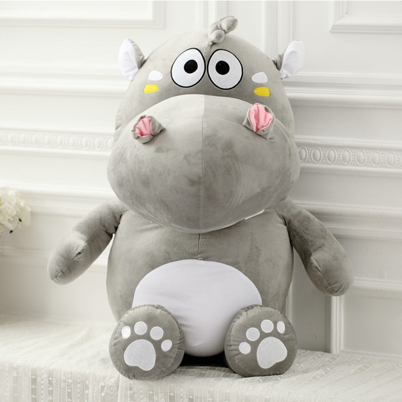 Online Hippo Pillow Stuffed Toy Unicorn Kawaii Kids Toys Mattress Plush Soft For Bouquets Kid Animals Valentine Day Gifts Aliexpress Mobile
