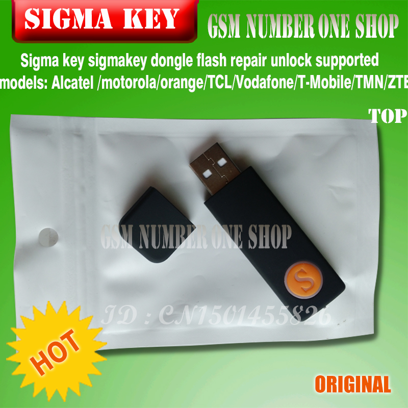 US $131 8 |The Newest 100% original Sigma key sigmakey dongle for alcatel  alcatel huawei flash repair unlock-in Telecom Parts from Cellphones &