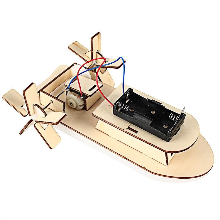 Pequeña tecnología DIY Ship Science Experiment Juguete educativo - Juguetes de construcción - foto 4