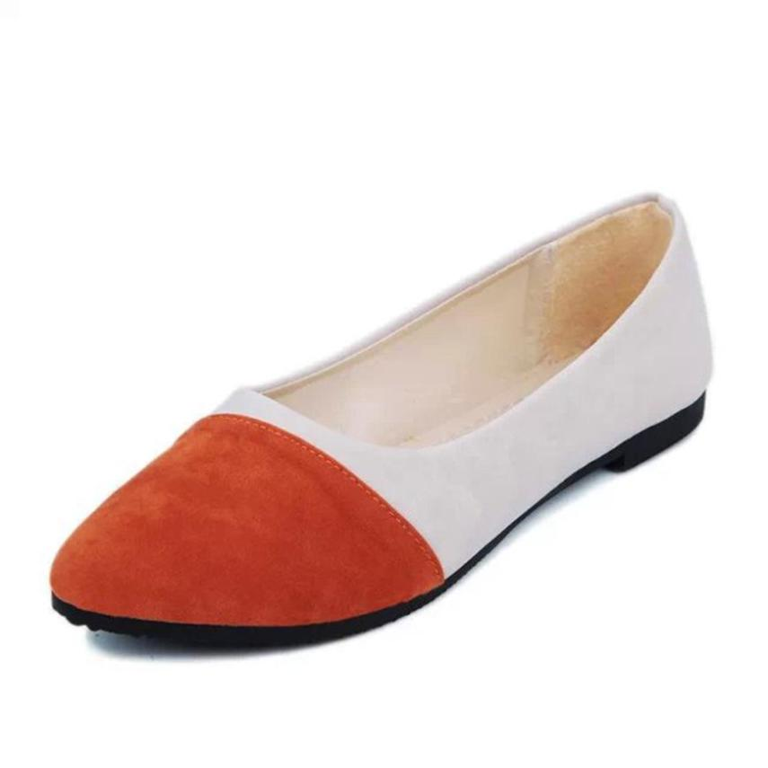 xiniu Women 2018 Casual Flock All Seasons Ballet Slip On Flats Loafers Shoes Soft Women Shoes Mixed Colors shoes Shallow shoes women flats casual multicolor all seasons ballet slip on flats shoes pisos de mujeres appartements pour femmes women s shoes a8