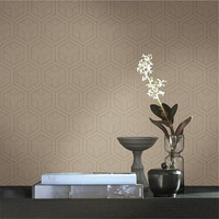 Embossed Non Woven Wallpaper Roll Desktop Floral Wallpaper Europe Vintage Simple Home Decor Grain Kitchen Wall