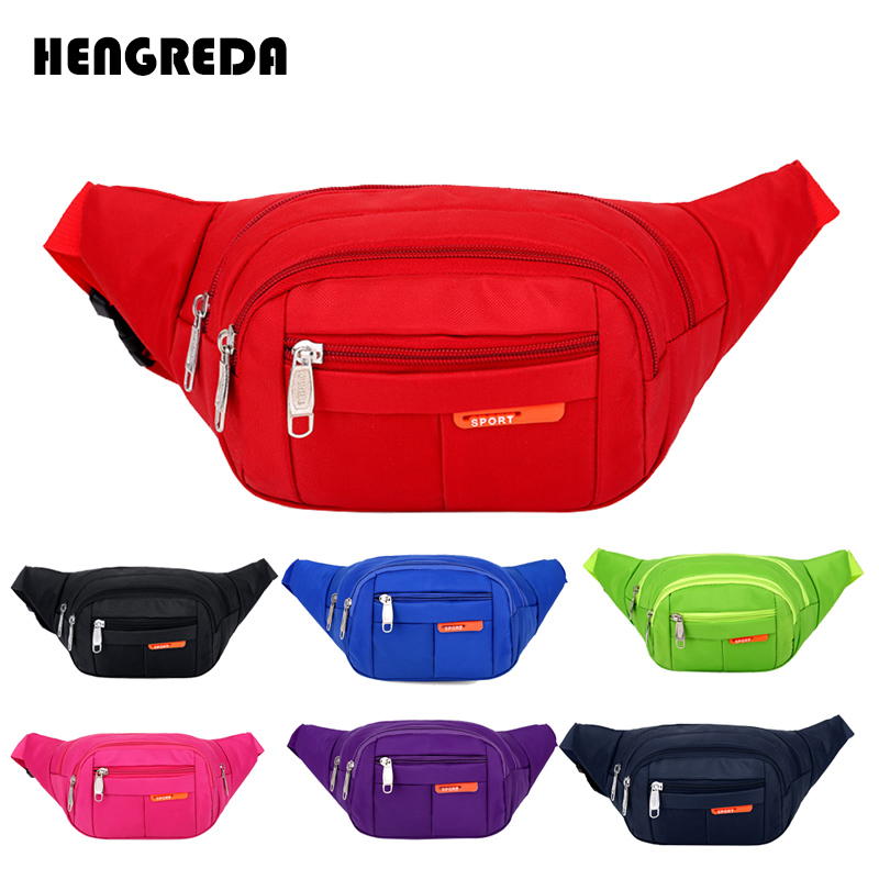 Women Waist Packs Fanny Bag, Multiple Functions Hip Bum Chest Belly Back Bags With Adjustable Belt Strap For Men, Women Fit 6