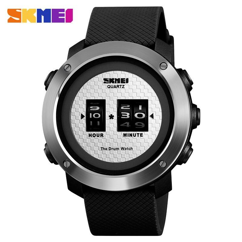 SKMEI Hommes Montres Top Marque De Luxe Creative Montre Hommes Étanche Sport En Plein Air Quartz Horloge relogio masculino reloj hombre 2019