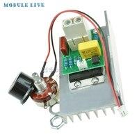 10000W AC 220V SCR Voltage Regulator Motor Speed Controller Dimmer Thermostat CZ