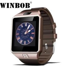 Relógio inteligente Relógio Digital DZ09 com Homens Mulheres Cartão SIM Bluetooth Wearable Dispositivos u8 Smartwatch Para Android Câmera Do Telefone a1 gt08