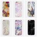 Kisscase para iphone 7 6 6 s plus 5S caso 3d pintado tampa do telefone para samsung galaxy s6 & s6 edge pedra moda macio tpu tampa traseira