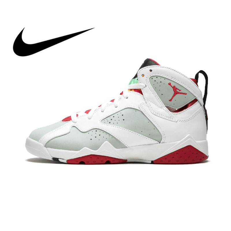 shop for official brand quality fashionable and attractive package US $136.35 41% OFF|NIKE Air Jordan 7 Retro BG Hare Women's Basketball Shoes  Sport Outdoor Sneakers Athletic Designer Footwear 2018 New 304774 125-in ...