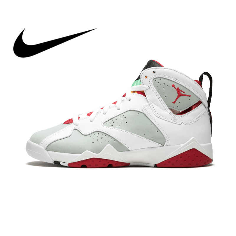 06c6f5db2f10 NIKE Air Jordan 7 Retro BG Hare Women s Basketball Shoes Sport Outdoor  Sneakers Athletic Designer Footwear