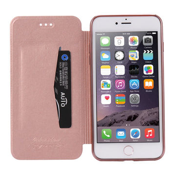 Luxury Slim Book Leather +TPU Wallet Flip Phone Protect Case Cover