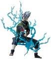 Frete Grátis Anime Naruto Ninja Copiador Hatake Kakashi com Relâmpago Lâmina PVC Action Figure Toy Model Collection #012