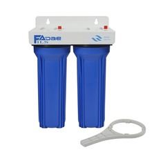 2-Stage Whole House Filtration System Blue 3/4