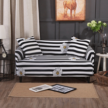 PORSIA 17Colors Slipcover Sofa Cover Sectional Elastic Polyester For Living Room Single/Two/Three/Four-Seater