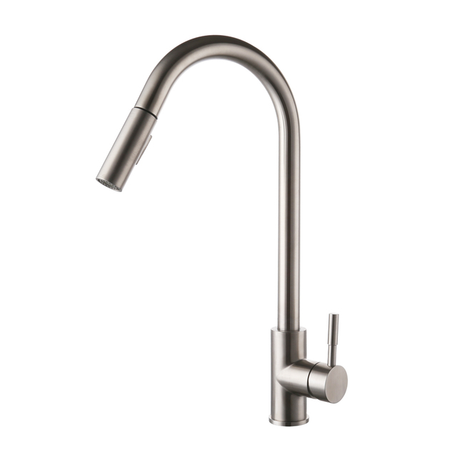 Delicieux KES LEAD FREE SUS 304 Stainless Steel Pull Down Kitchen Faucet Mixer Tap  With Pull
