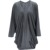 Las nuevas mujeres Abrir Stitch Moda Largo Trench Coat Para Las Mujeres Otoño Abrigos De Primavera Zanja Prendas de Vestir Exteriores Floja Abrigo Gabardina Mujer Trench