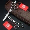 5.5 дюймов фиолетовый дракон ножницы комплект 440C профессиональные ножницы и филировочные ножницы парикмахерские ножницы VH088