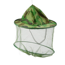 1pc Fishing Hat Insect Bee Mosquito Resistance Bug Net Mesh Head Face Protector Cap Sun