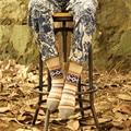 Coolbeener Womens Cashmere Wool Thick Warm Socks Winter Fashion Striped Socks dec29