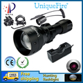 UniqueFire Night Vision Hunting Flashlight UF1503 IR 850NM Infrared Light Waterproof LED Torch+Charger+Tactical Remote+Gun Mount