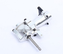 Alzrc Devil 450 pro D45P23A Metal Tail Torque Tube Unit Bright silver  RC Helicopter t-REX 450 Spare Parts FreeTrack Shipping